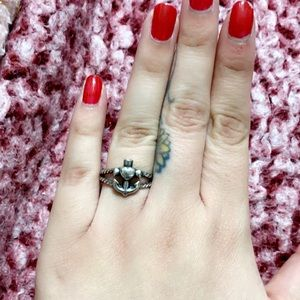 Faith, Hope & Love Twisted Rope Ring